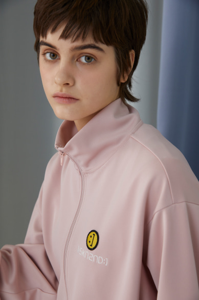 SM:]E PATCH TRACK JACKET BABY PINK