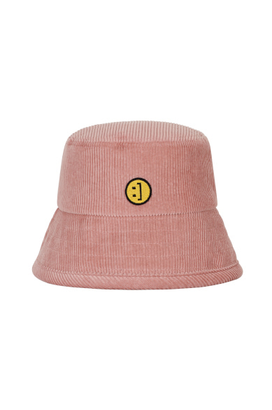 CORDUROY SM:]E BUCKETHAT INDIE PINK
