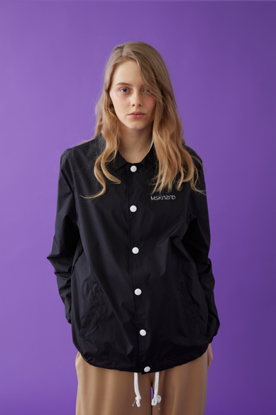 [S 사이즈 품절] INDIVIDUALIST COACH JACKET BLACK