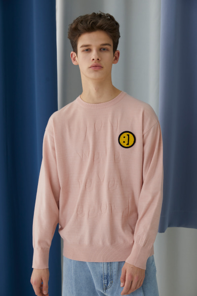 NEVER SECOND SWEATER BABY PINK
