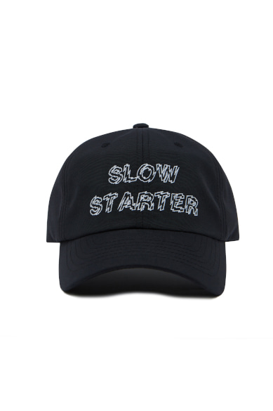 OUTLINE SLOW STARTER BALLCAP BLACK_M19BAC003BK