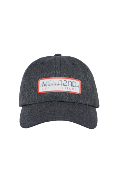 LENTICULAR PATCH BALL CAP CHARCOAL
