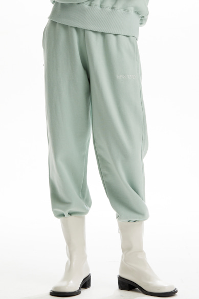 MSKN2ND LOGO SWEATPANTS MINT